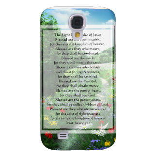KRW de åtta beatitudesna av Jesus G3 Galaxy S4 Fodral