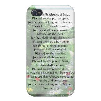 KRW de åtta beatitudesna av Jesus G4 iPhone 4 Cover