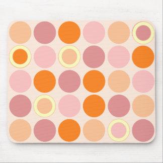 KRW kyler rosa och orange fläckar Mus Mattor