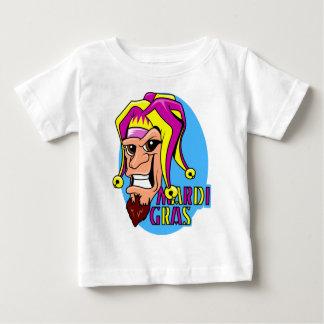 KRW som grinar den Mardi Gras gyckelmakaren Tee Shirts