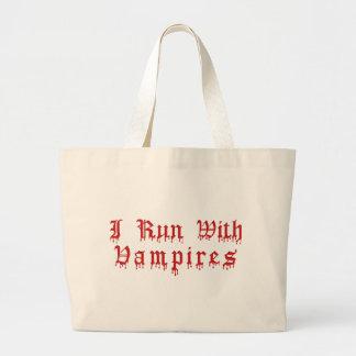 KRW som jag kör med genomblött blod för vampyrer Jumbo Tygkasse
