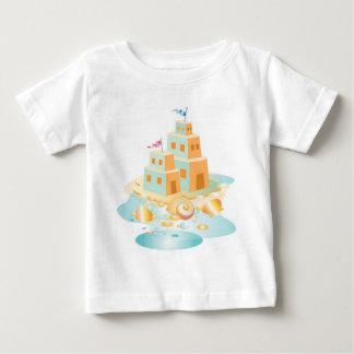 Krw-spädbarn skjorta för Sandcastle T Shirt