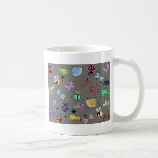 Kryp och insekter kaffemugg