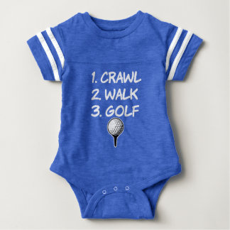 Krypandet går den roliga pojkeskjortan för Golf Tee Shirt