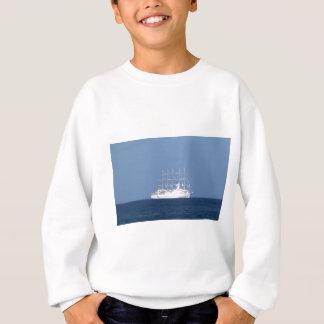 Kryssningfrakten med seglar tröjor