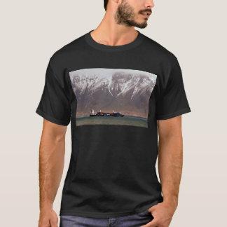 KRYSSNINGFRAKTER runt om SNÖBERG Amerika Tee Shirts