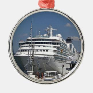 KryssningfraktSeabourn Odyssey Julgransprydnad Metall