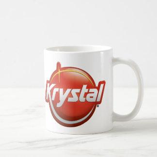 Krystal ny logotyp kaffemugg