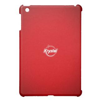 Krystal rött iPadfodral iPad Mini Mobil Fodral