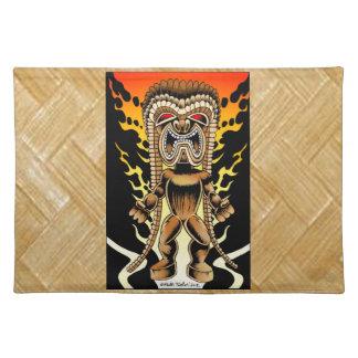 Ku hawaiansk Tiki gud Bordstablett