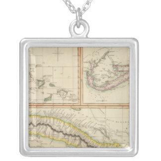 Kuba Bahama mig, Bermudas Silverpläterat Halsband