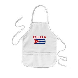 Kubaflagga 1 barnförkläde