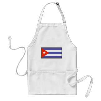 Kubaflagga Förkläde