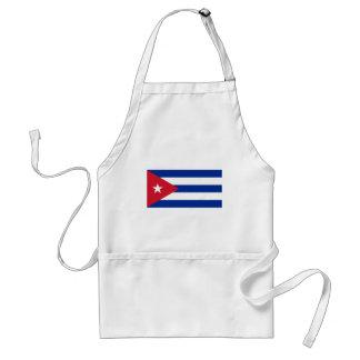Kubansk flagga - Bandera Cubana - flagga av Kuban Förkläde