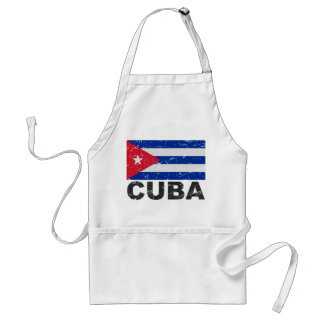 Kubavintageflagga Förkläde