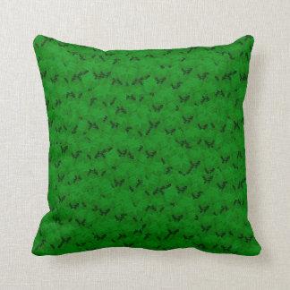 Kudder dekorativt mjukt för grön svart dusch kudde