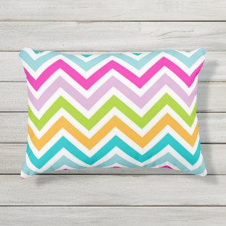 "Chevrons Stripe Outdoor Accent Pillow 16"" x 12"""