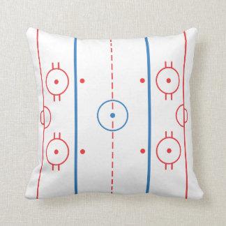 Kudder hockeyisbanan (för is) kudde