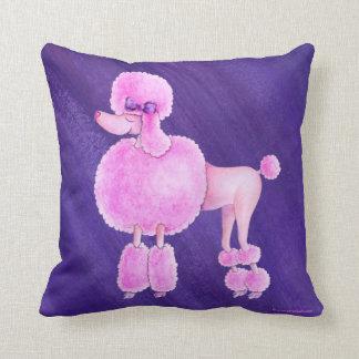Kudder mörk purpurfärgad ultraviolett konst för kudde