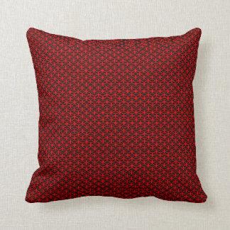Kudder rött svart modernt populärt för vårnatur kudde