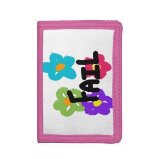 Kuggningplånbok - blomma