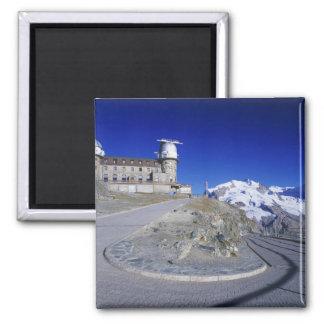 Kulm hotell och slinga, Gornergrat, Zermatt, Magnet