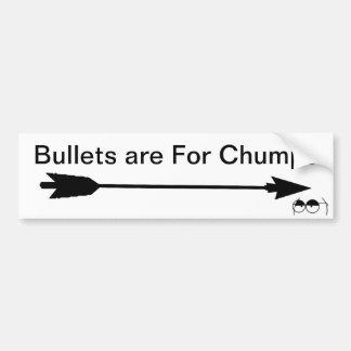 Kulor är för Chumps Bildekal