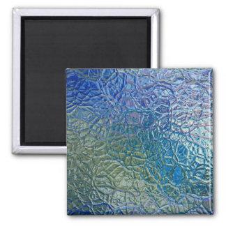 Kulör glass struktur, färgrik skina yta magnet