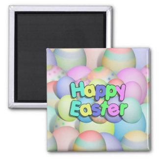 Kulör påskägg - glad påsk