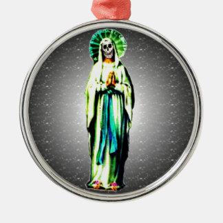 Kult av Santa Muerte Julgransprydnad Metall