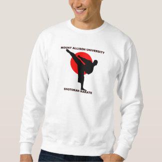 Kun för Dojo för monteringsAllison Shotokan Karate Lång Ärmad Tröja