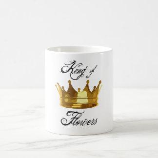 Kung av blommor! kaffemugg