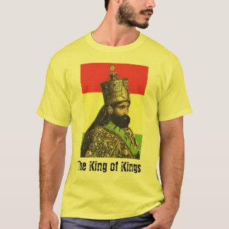 kung av ethiopia, kungen av kungar tee shirt