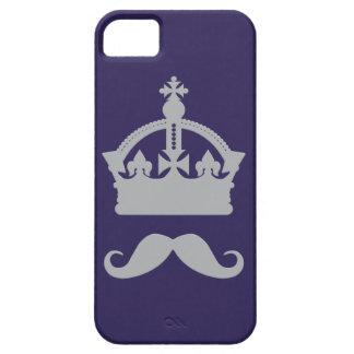 Kung av för färgtelefon för mustascher iPhone 5 fodral