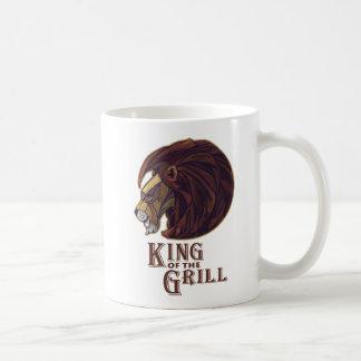 Kung av grilla kaffemugg