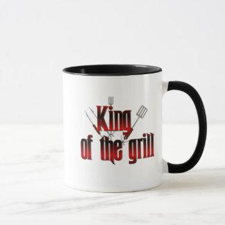 Kung av grilla mugg