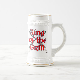 Kung av grilla sejdel