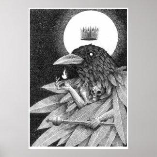 Kung av kråkor poster