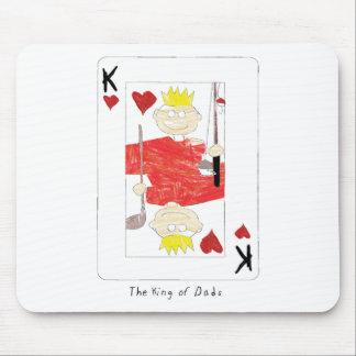 kung av papporkortet mus matta