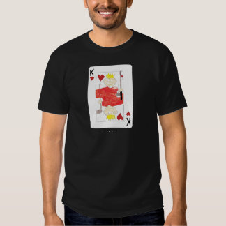 kung av papporkortet t-shirts