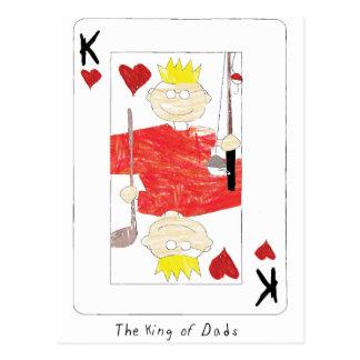 kung av papporkortet vykort