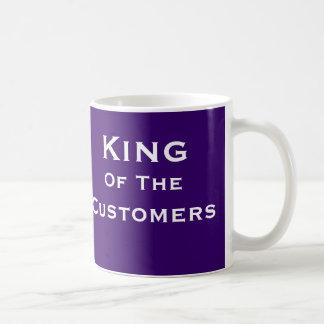 Kung av titeln för man för kundSalechef den roliga Kaffemugg