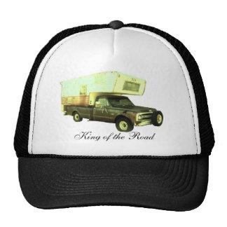 Kung av vägen - vintagelastbilcampare keps