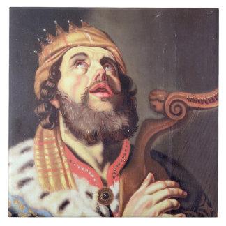 Kung David (panelen) Kakelplatta