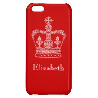 Kung- eller drottningkrona iPhone 5C mobil skydd