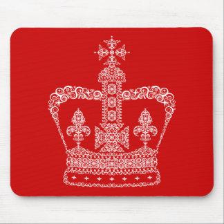 Kung- eller drottningkrona musmatta