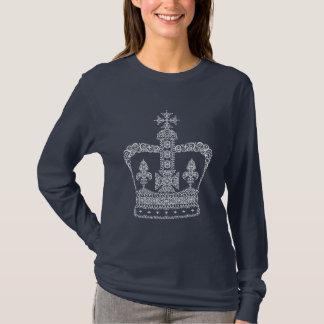 Kung- eller drottningkrona tshirts