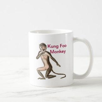 Kung Foo apa Kaffemugg