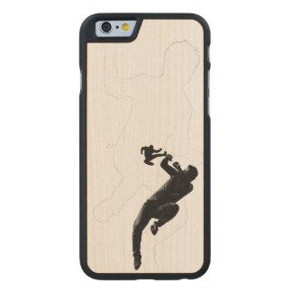 Kung Foo! Carved Lönn iPhone 6 Skal