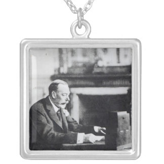Kung George V Silverpläterat Halsband